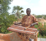 Lassana Diabaté virtuoso player of the balafon