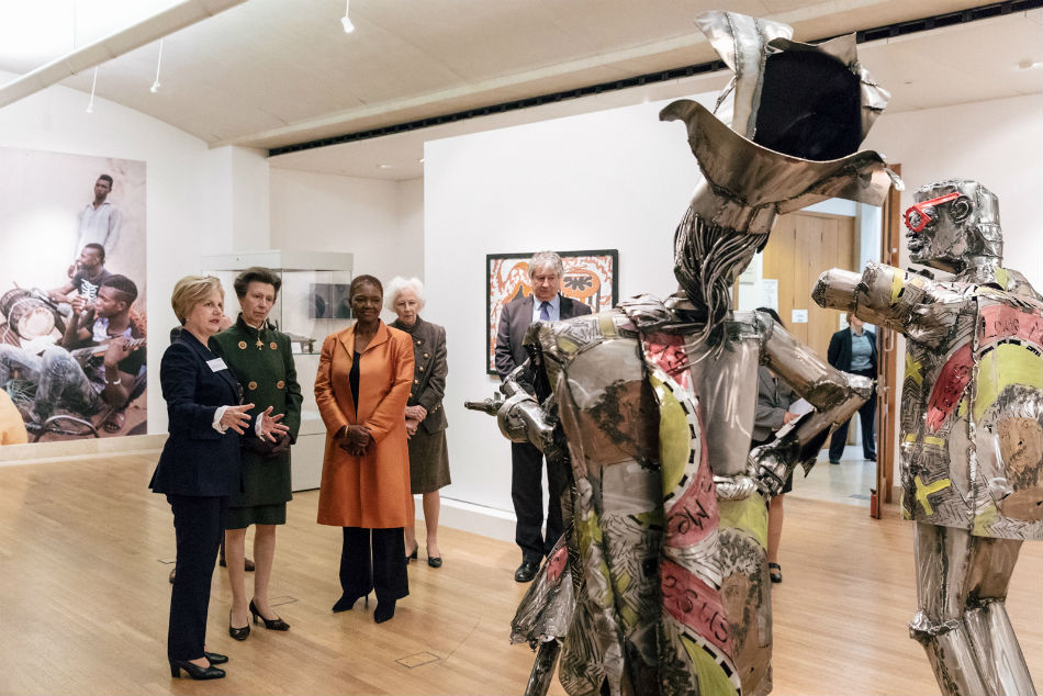 HRH Princess Royal visit to SOAS Collections