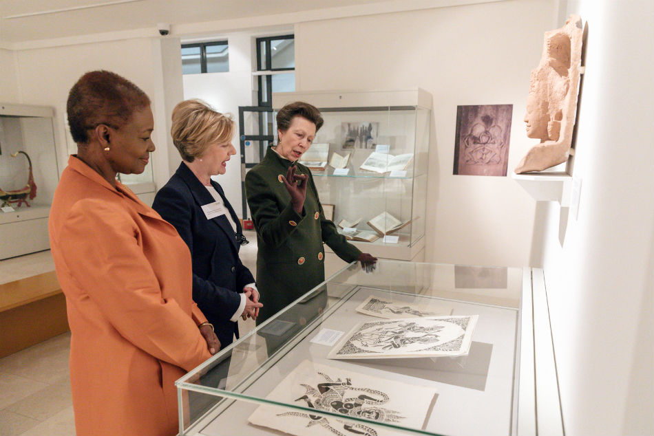 HRH Princess Royal visit to SOAS Collections 2