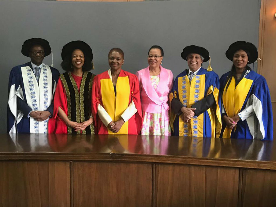 SOAS Director honoured at Wits