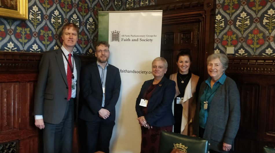 Project report launched at Houses of Parliament event