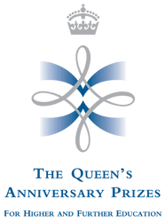 Queens Anniversary Prizes for Higher Education Logo