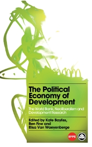 {Political Economy of Development Book Cover}