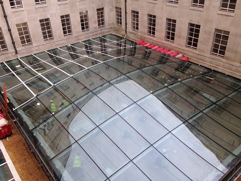 Soas Celebrates Completion Of North Blocks Spectacular Glass Roof