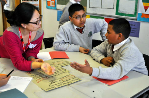 East-end school boys shown value of their own multilingualism