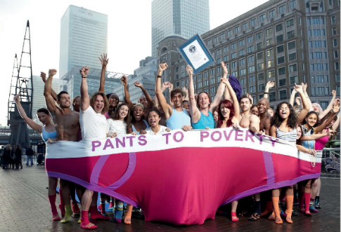 Gabrielle Powelle Pants to Poverty pic