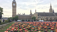 Parliament Square with Life Vests