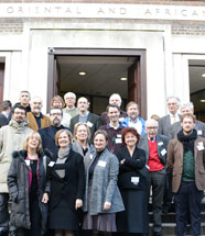 Group photo - Seminar on the Pisa Griffin and the Mari-Cha Lion
