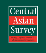 Central Asian Survey - cover