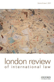 London Review of International Law website
