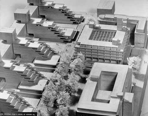 Architect's model for Philip's Building