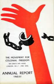 Movement for Colonial Freedom annual report 1960/1