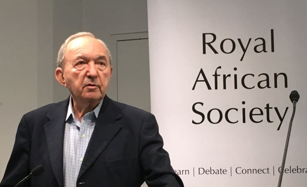 Richard Goldstone, International Justice in Africa