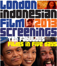 London Indonesia Film Screenings 2013 - poster