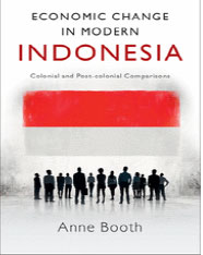 IMG - Anne Booth - Book Cover Economic Change in Modern Indonesia