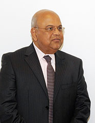 South African Minister of Finance, Pravin Gordhan