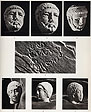 Stone heads and graffiti from the Temple of Heracles. Vol 2. Plate LXXI