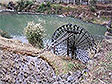 Bamboo water-wheel in the Chengyang Valley, China