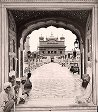 Golden Temple from before the Archway. E.—Amritsar. India