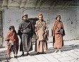 "Group of Tibetans at the ""Golden Temple"" of the Sikhs"
