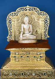 Seated Buddha from Burma
