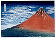 Gaifu kaisei (South Wind, Clear Sky ['Red Fuji']),
