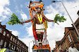 Body hanging as a form of penance, Chariot festival Waltham Forest