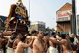 Procession of the Goddess Amman during the Chariot festival, Waltham Forest