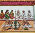 Indian Marriage Painting