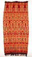 Ikat textile, Sumba, Indonesia, 1990s, on loan to SOAS