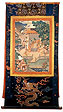 Prince Siddhartha, Tibet, 18th-19th century, Thangka, gouache on silk, mounted on silk brocade, SOAS