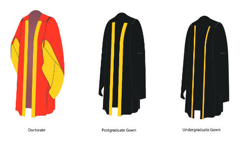 How To Wear Graduation Gown Uk - Red Prom Dresses