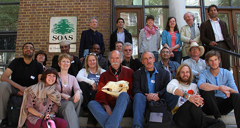 Some of the participants at the Camel Conference @ SOAS on 24-25 May 2011. Photo: Alicia Sully
