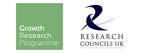 DFID-ESRC Growth Research programme (DEGRP) and Research Councils UK Logos