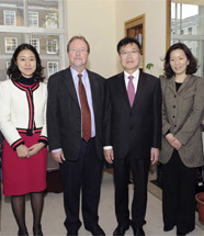 Visit from the Korean Ministry of Culture