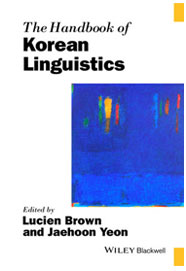 The Handbook of Korean Linguistics