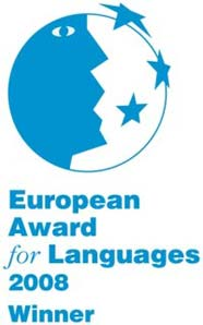 European Award for Languages 2008 winner logo