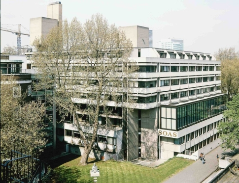 View of SOAS Library Extension