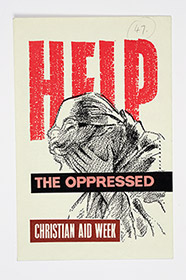 Christian Aid Week donation envelope, 1958