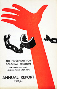 The Movement for Colonial Freedom Annual Report, 1960-61