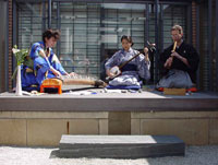 Japanese Music in the Roof Garden