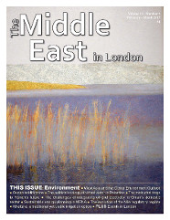Middle East in London Cover February - March 2017