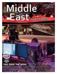 Middle East in London Cover February - March 2013
