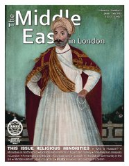 Middle East in London Cover June - July 2013