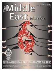Middle East in London Cover December 2013-January 2014
