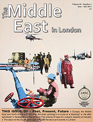 {Middle East in London Cover June-July 2014}