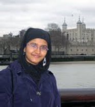 Farida Begum, Barnard College