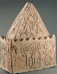 Ossuary from Mullah Kurgan